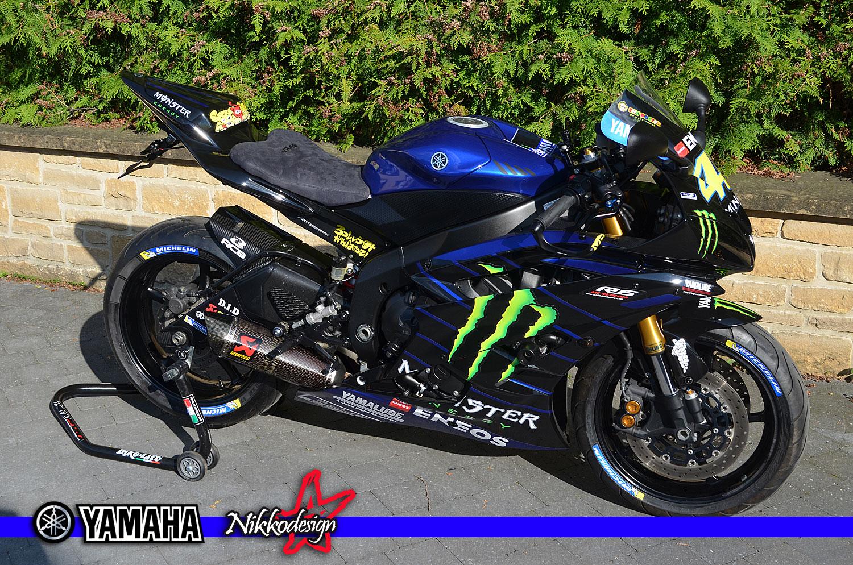 R6 MOTO GP replica rossi #46